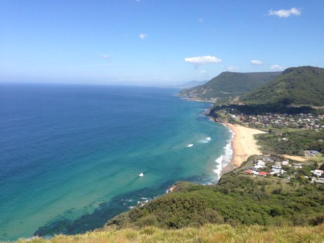 Illawarra coastline